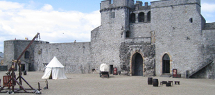 king johns castle courtyard limerick