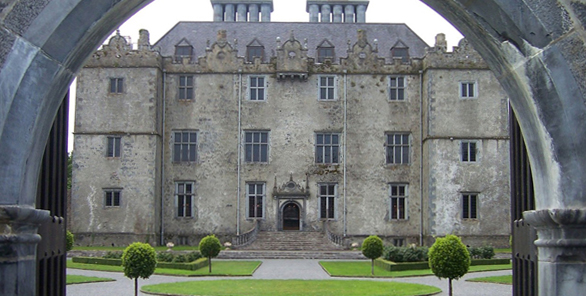 visit portumna castle while on holiday in ireland